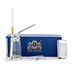 Pipe World Cigarette Hookha CUM Smoking Pipe With Lighter