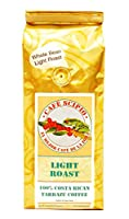 Cafe Scipio Whole Bean Coffee, Light Roast, 1-Pound Bags (Pack of 2)