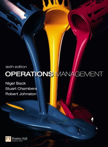 Operations Management (6th Edition)