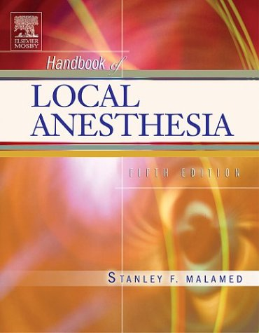 Handbook of Local Anesthesia, 5e