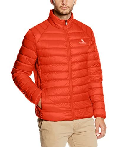 POLO CLUB Chaqueta Guateada Ultralight Man Naranja