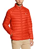 POLO CLUB Chaqueta Guateada Ultralight Man (Naranja)