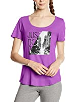 Nike Camiseta Manga Corta Tee-Scoop Photo Jdi (Ciclamen)