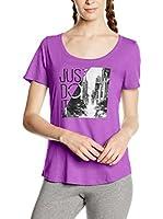 Nike Camiseta Manga Corta Tee-Scoop Photo Jdi (Ciclamen)