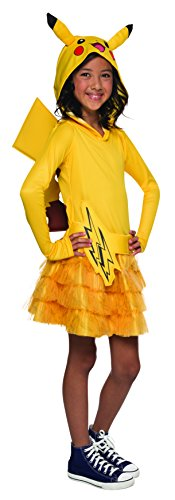Pokemon Pikachu Hooded Costume Dress