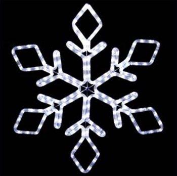 """22"""" Led Snowflake"""