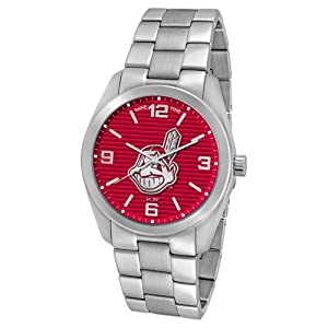 Cleveland Indians MLB Elite Series Watch - GAM-MLB-ELI-CLE by Game Time