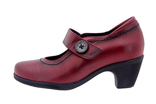 Scarpe donna comfort pelle Piesanto 1480 casual comfort larghezza speciale