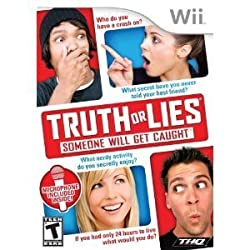 Wii Game Truth Or Lies Test At Home W/ Wii Microphone