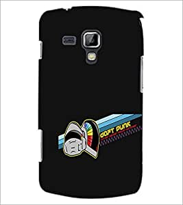 PrintDhaba Daft Punk D-1192 Back Case Cover for SAMSUNG GALAXY S DUOS 2 S7582 (Multi-Coloured)