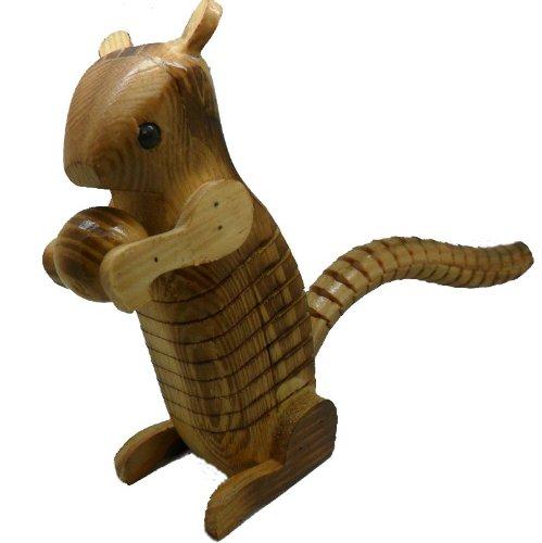 Wooden Ashake Squirrel Model Toy,Christmas gift