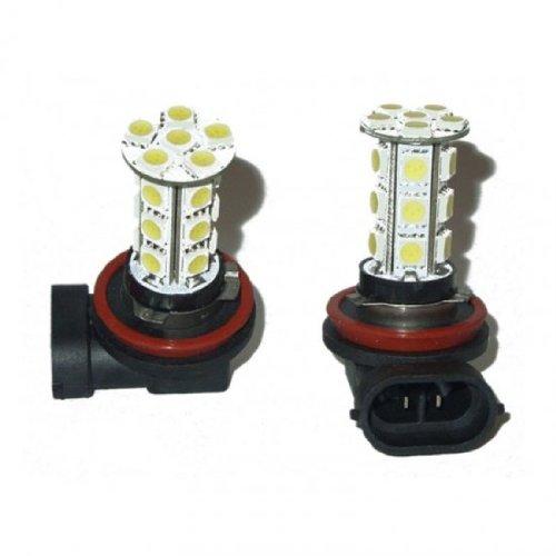 Genssi H10 9145 9140 Series Led Light Bulb White For Fog Lights (Pair)