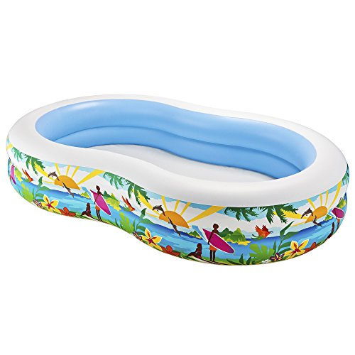 Intex-Swim-Center-Paradise-Inflatable-Pool-103-X-63-X-18-for-Ages-3