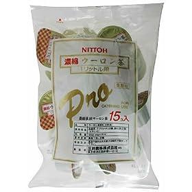 【クリックでお店のこの商品のページへ】ホワイトノーブルティー 濃縮ウーロン茶プロコンク 15P