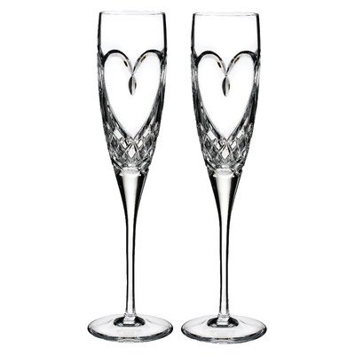 Waterford True Love Flutes (Set of 2)