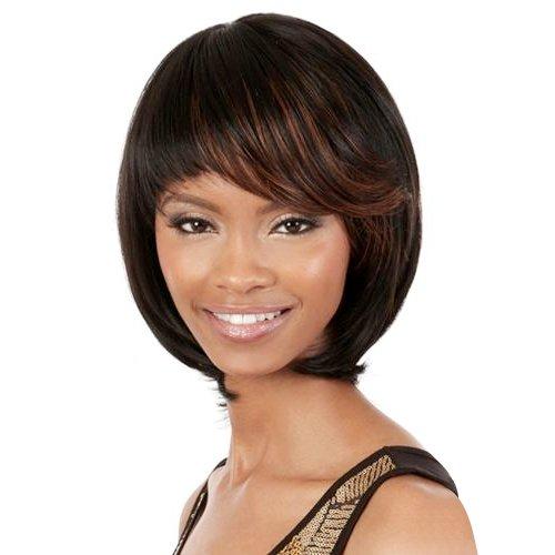 Motown Tress NE1 Human Hair Blend Wig - HB May from Oradell International Corporation