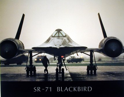 Buy Sr-71 Blackbird Military Spyplane Aviation Art Print Poster (16x20) on Amazon.com