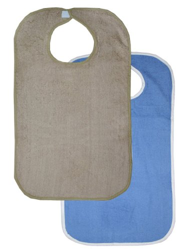 Terry Cloth Bibs For Adults