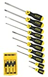 41AXmuOgsCL. SL160  Stanley 94 549 16 Piece Cushion Grip Screwdriver Set