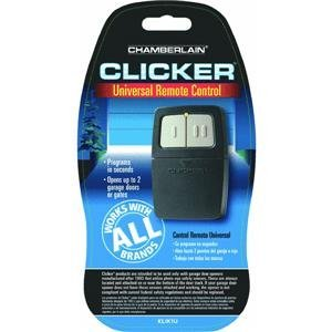 Click to read our review of Clicker Universal Remote: Chamberlain KLIK1U