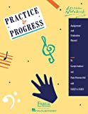 41AXpAlhNUL. SL160  Practice and Progress Lesson Notebook