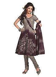 Design Willa Cotton Dress Material Saree (DW0269)