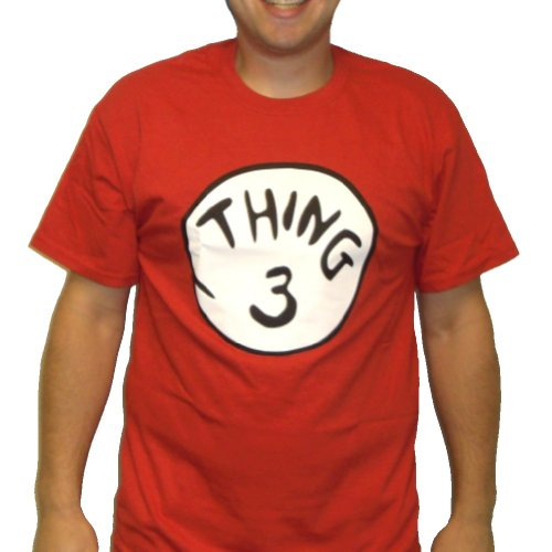 Thing 3 T-Shirt Costume Dr. Seuss Cat In The Hat Youth