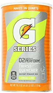 Gatorade G Series Lemon-Lime (76.5 oz/Makes 9 Gallons)