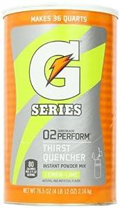 Gatorade G Series Lemon-Lime (76.5 oz/Makes 9 Gallons)