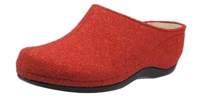 Sydney Bine washable 01119, Chaussures femme - Rouge, 36 1/3 EUBerkemann