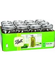 67000 Ball Qt Mason Jar WM 12-pack by 