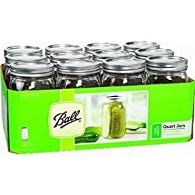 67000 Ball Qt Mason Jar WM 12-pack