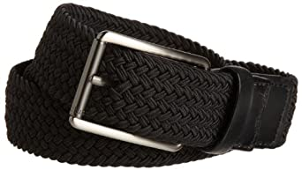 Perry Ellis Men's Stretch Belt, Black, 32