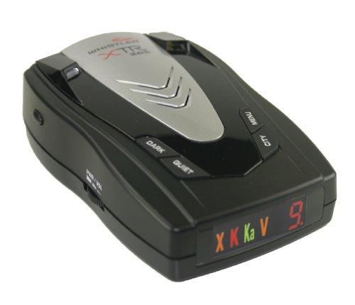 Whistler XTR-265 Laser-Radar Detector (Grey)