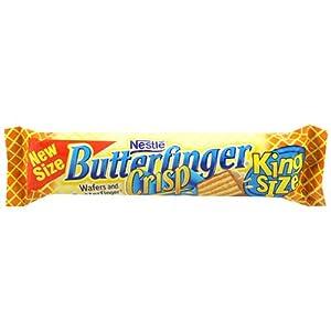 Nestles Butterfinger Crisp King Size, 3.17-Ounce Candy Bars (Pack of 18)