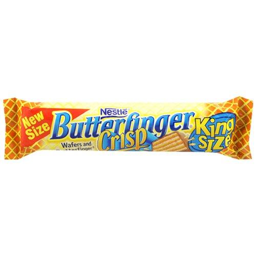 Buy Nestles Butterfinger Crisp King Size, 3.17-Ounce Candy Bars (Pack ...