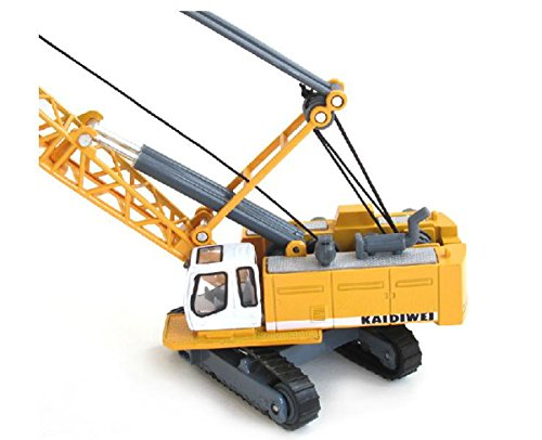 Toy Construction Equipment : Construction equipment crane toy model tracked cable