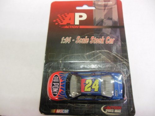 1/64 Scale Size Stock Car #24 Jeff Gordon