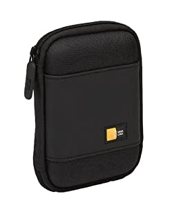 Case Logic PHDC-1 Compact Portable Hard Drive Case (Black)