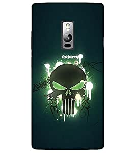 Evaluze monster Printed Back Cover for ONE PLUS TWO