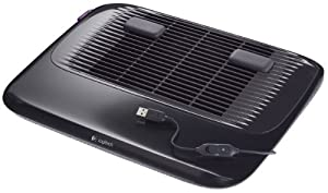 Logitech Cooling Pad N200 with USB-Powered 2-Speed Fan (939-000346)