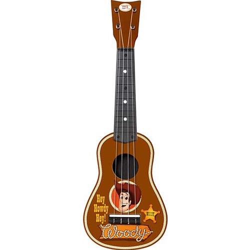 toy story 3 woody mini guitar. Black Bedroom Furniture Sets. Home Design Ideas