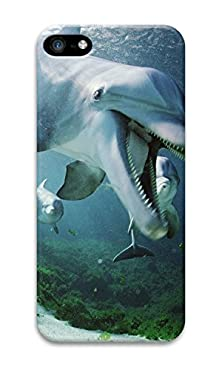 buy Phone Case Custom Iphone 5C Phone Case Dolphin Underwater Polycarbonate Hard Case For Apple Iphone 5C Case