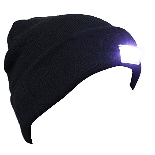 ALLMILL-Unisex-5-LED-Knitted-Beanie-Hat