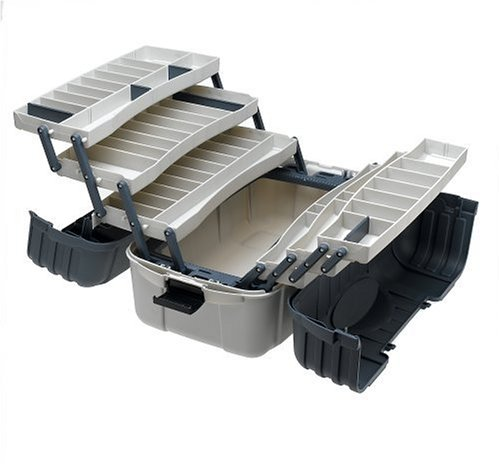 New Flambeau Outdoors 7 Tray Hip Roof Tackle Box Chest
