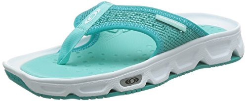 SalomonRx Break - Sandali Donna , Blu (Blau (White/Teal Blue F/Bubble Blue)), 39 1/3