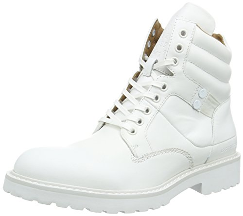 G-Star Raw Uomo, Sneakers, Tanker Boot, Bianco (Bright White-1322), 40