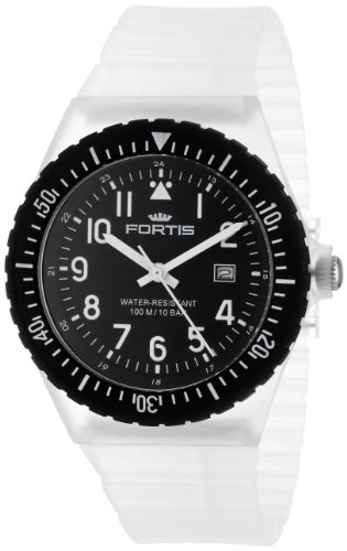 Fortis Colors C 704.40 Transparent Silicone Pop-Out Watch