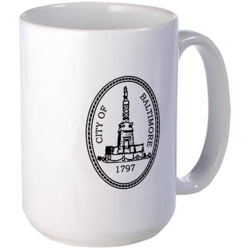 Cafepress Baltimore-City-Seal Large Mug Large Mug - Standard