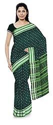 Laumunda Wcs Ltd Women's Cotton Saree with Blouse Piece (Green)